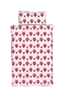Dotty Bedding Lavender organic baby products organic baby cribs